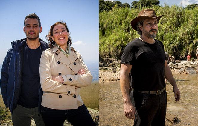 Carmo Dalla Vecchia, Lília Cabral e Alexandre Nero integraram o elenco da novela Império