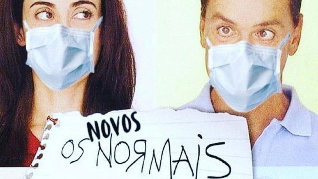 Cartaz da série Os Normais da TV Globo