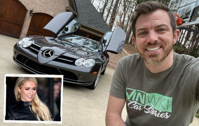 Ed Bolian, comprador da Mercedes-Benz SLR McLaren de Paris Hilton