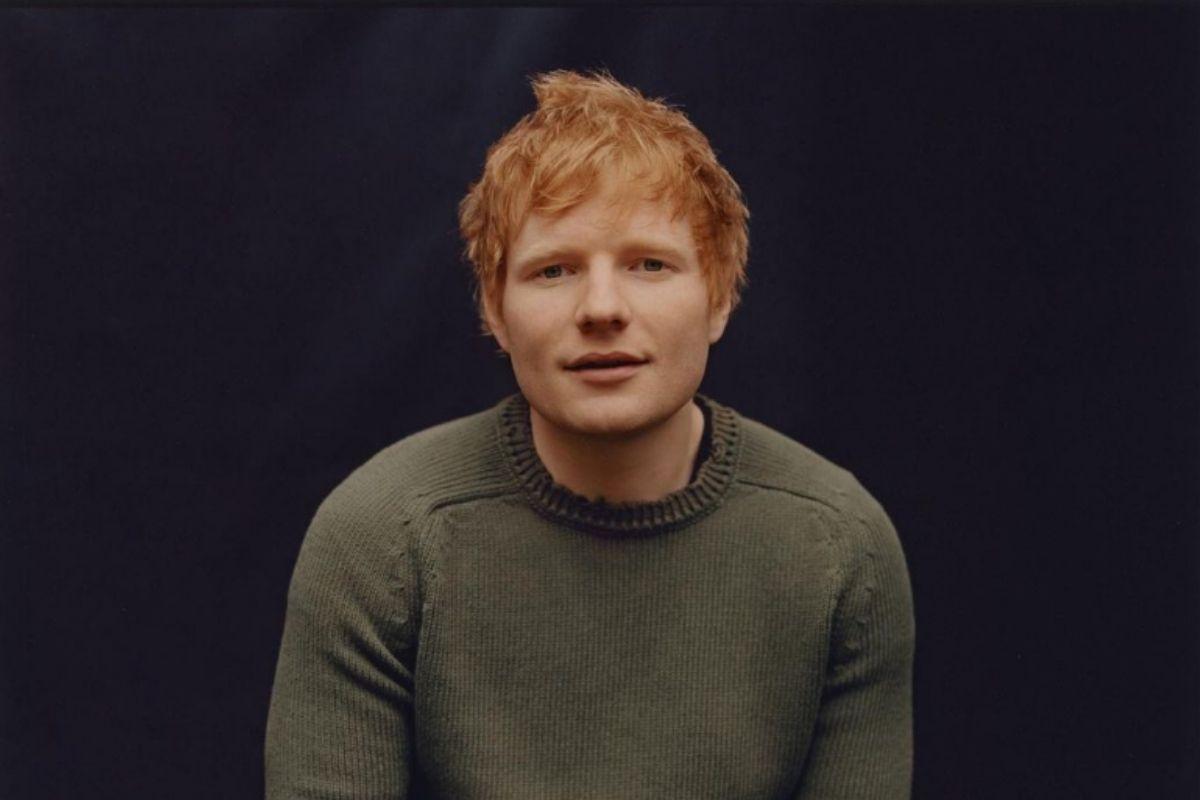 Retrato de Ed Sheeran