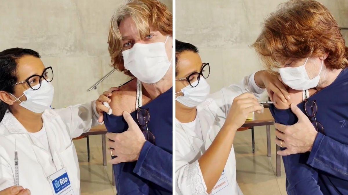 fabio-assunçao-sendo-vacinado-contra-a-covid-19