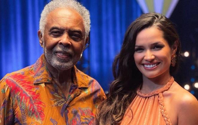 gilberto gil e juliette freire com vestido de tres mil reais nos bastidores de live junina