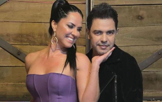 Graciele Lacerda se declara para Zezé Di Camargo