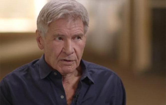 Harrison Ford em entrevista