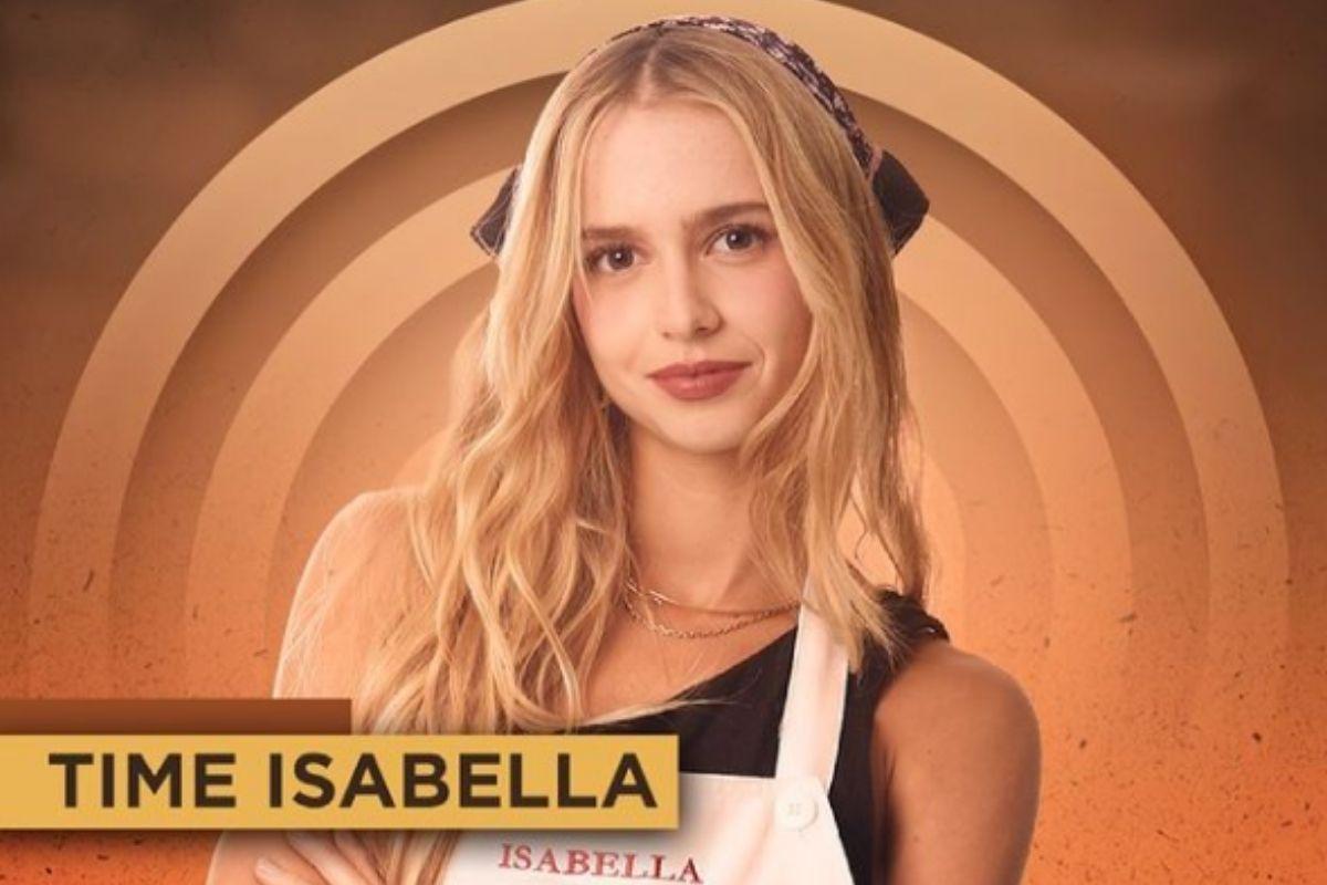 Isabella Scherer estará no Masterchef, da Band