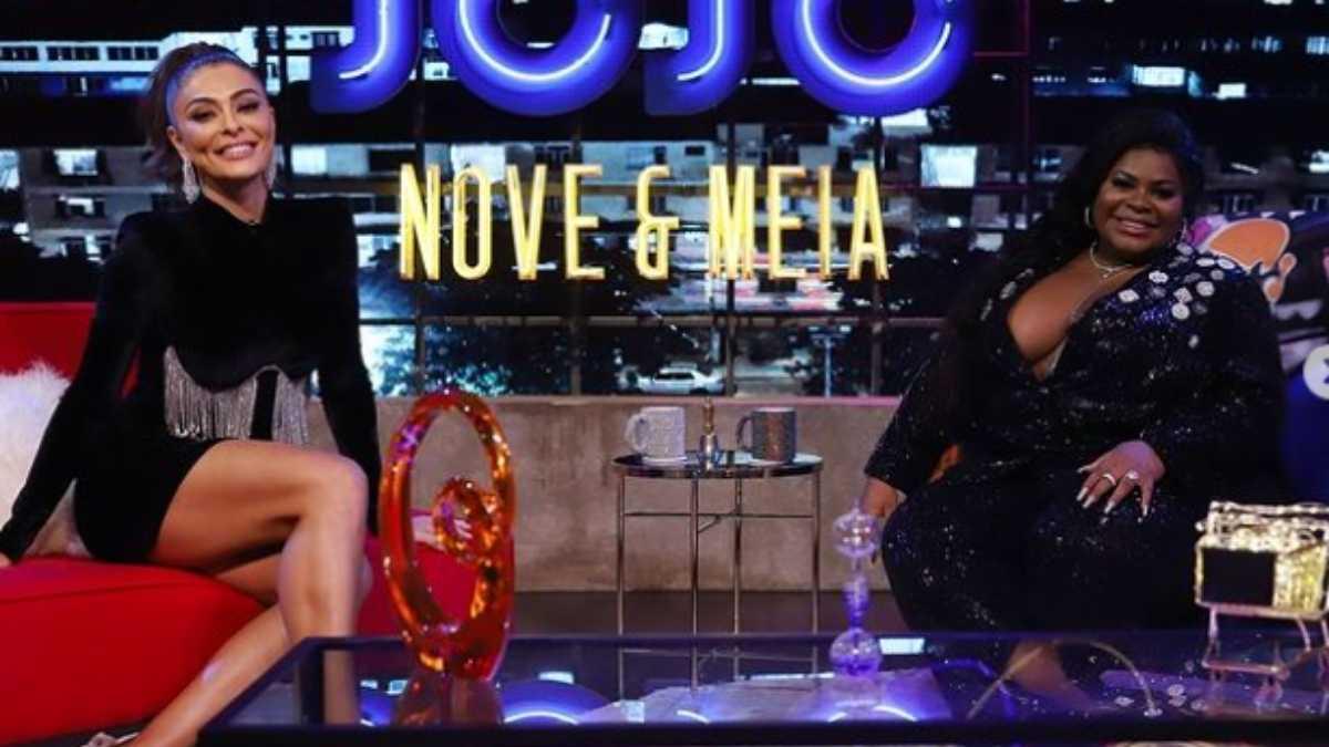 Juliana Paes e Jojo Todynho no programa Jojo Nove e Meia