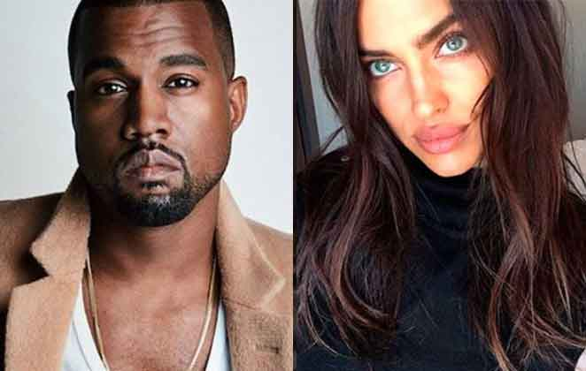 Kanye West e Irina Shaik