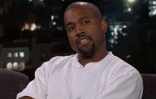 Kanye West em programa de TV