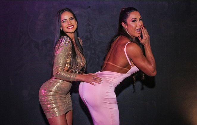 Kehtellen Soares apalpa o bumbum de Gracyanne Barbosa