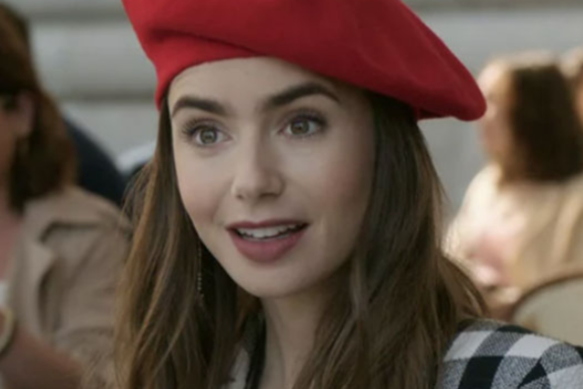 lily collins na série emily in paris