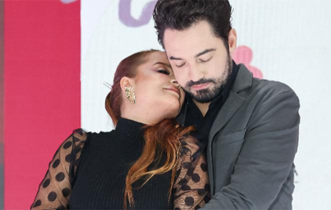 Maiara abraçada com Fernando Zor
