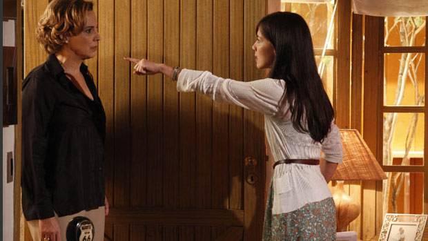 Eva ficará em choque com Manuela