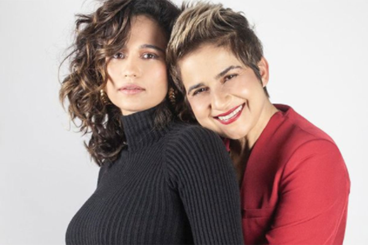 Famosos parabenizam Nanda Costa e Lan Lanh pela gravidez das gêmeas