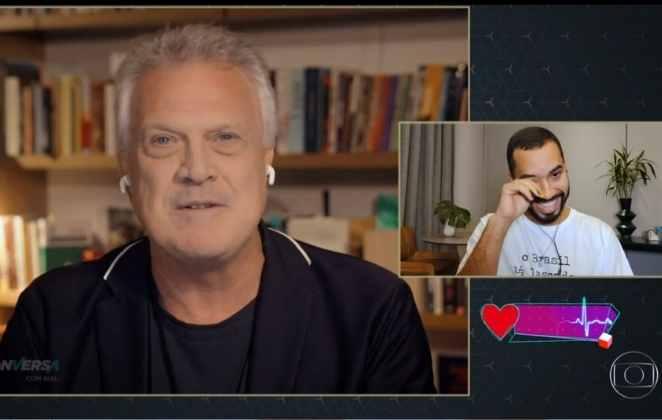 Pedro Bial entrevista Gilberto Nogueira