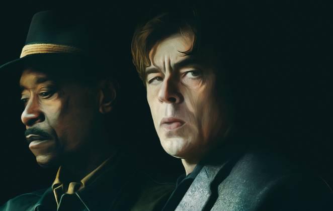 Protagonistas do pôster do filme Nem Um Passo em Falso da HBO Max