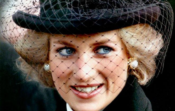 Princesa Diana sorrindo