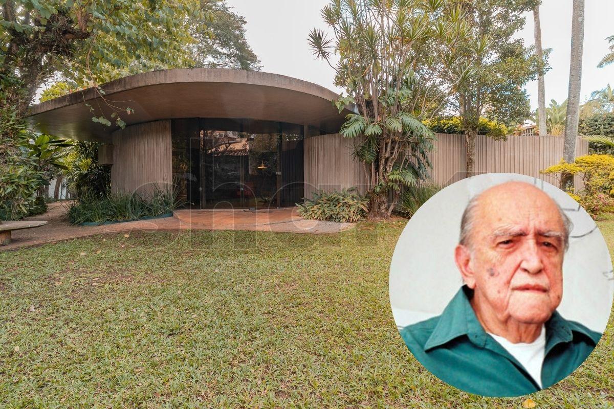 Projeto residencial de Oscar Niemeyer
