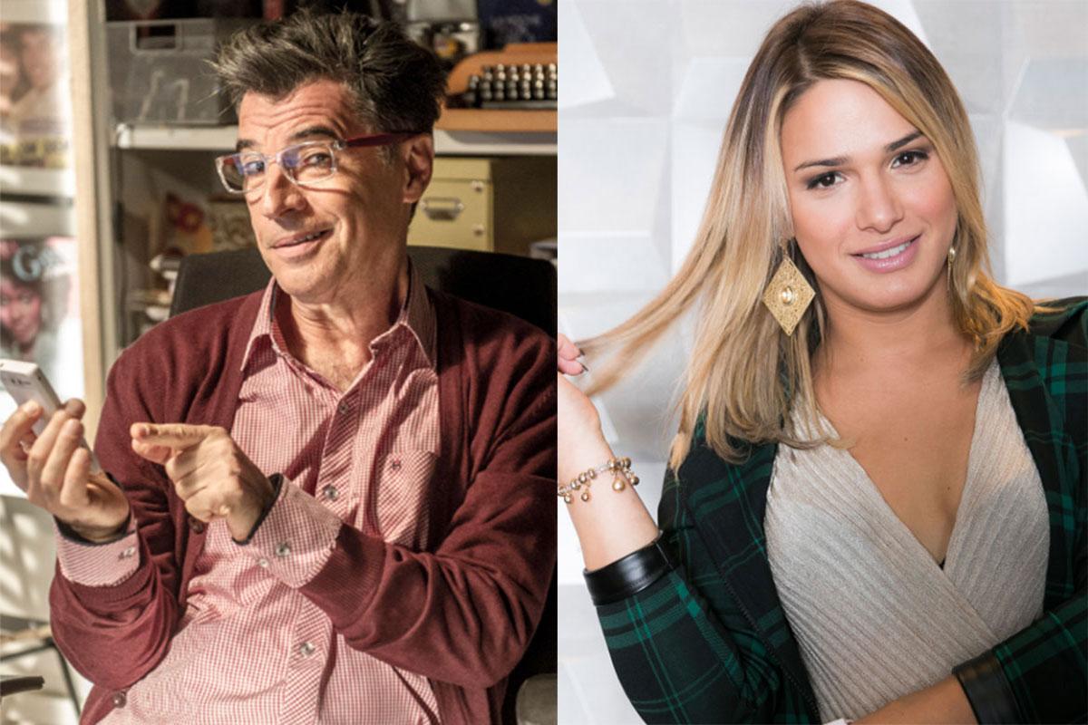 Paulo Betti e Glamour Garcia no Dia do Orgulho Gay