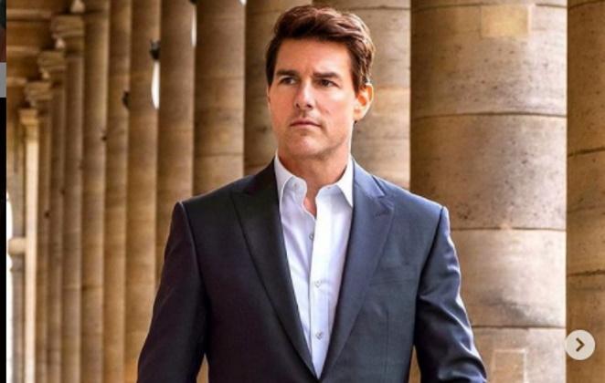 Tom Cruise em cena de filme