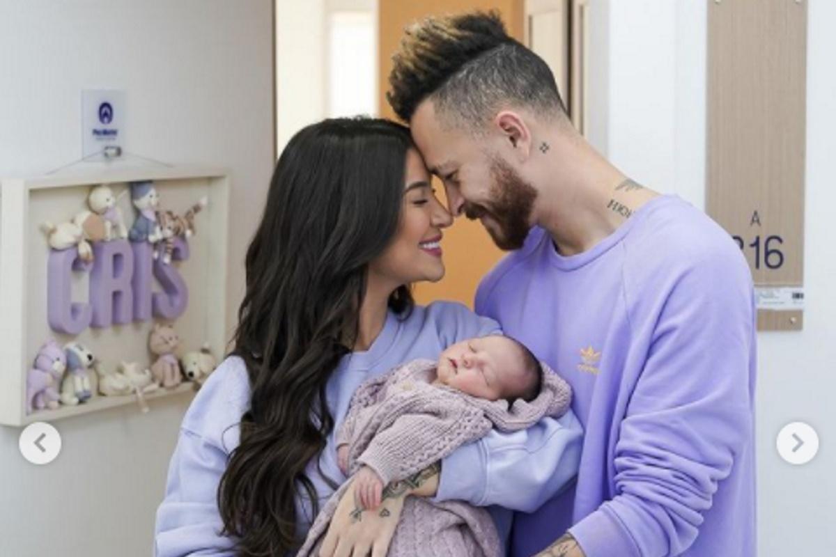Boca Rosa, Cris e Fred na maternidade