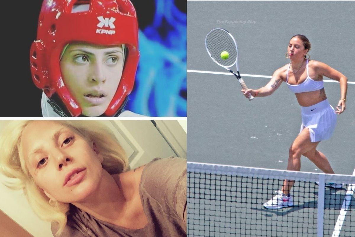 Em ritmo olímpico Lady Gaga brilha no tênis e no taekwondo
