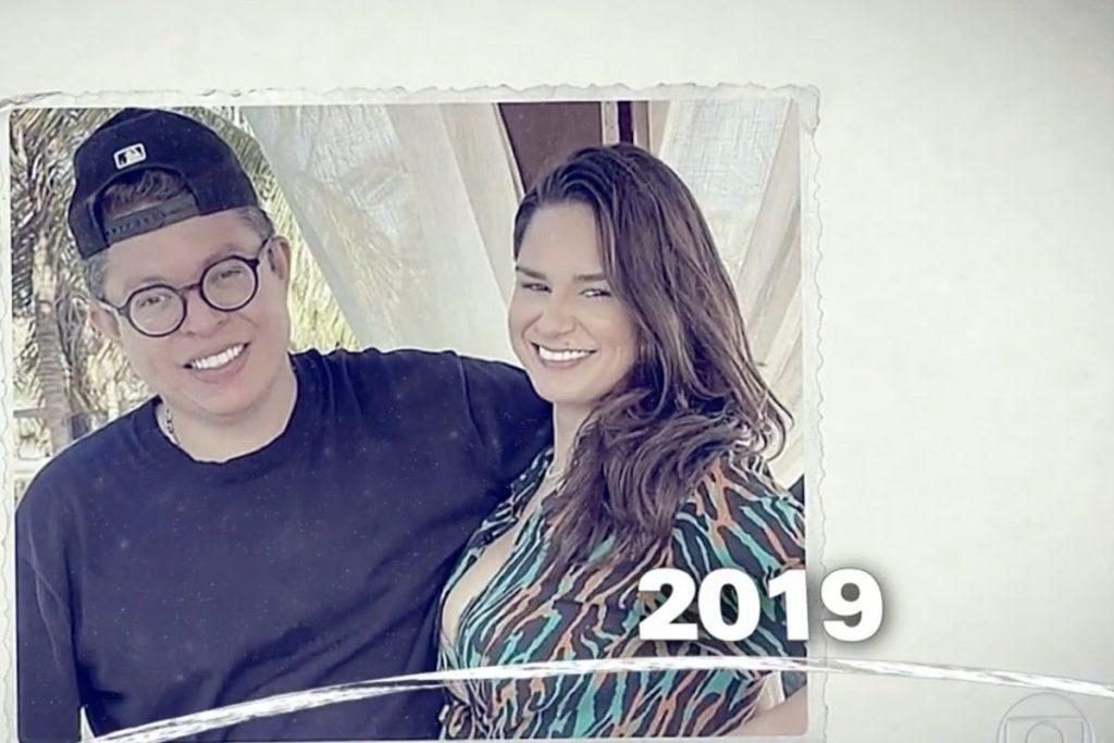 Pamella Holanda e seu ex-marido DJ Ivis