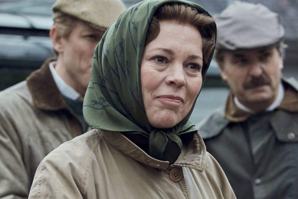 Olivia Colman como Rainha Elizabeth II
