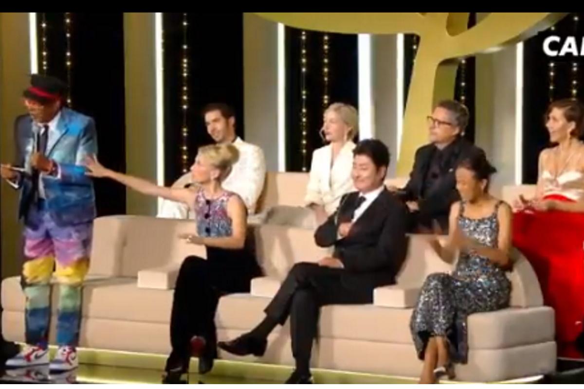 Spike Lee em evento de Cannes