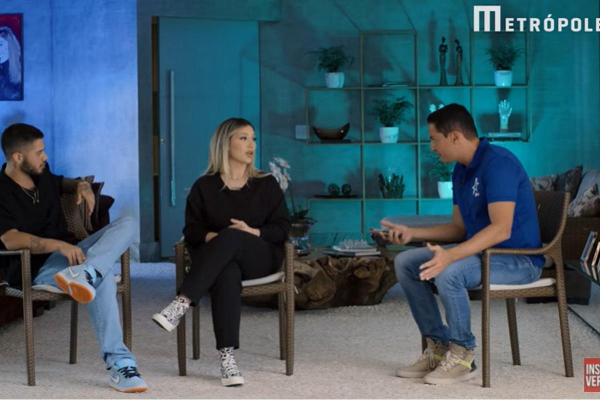 Ze Felipe Virginia e Leo Dias em entrevista