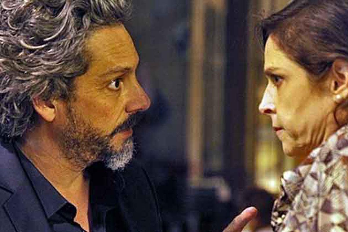 Alexandre Nero e Drica Moraes em cena de Império