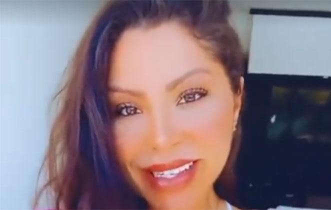 Andressa Ferreira com maquiagem leve
