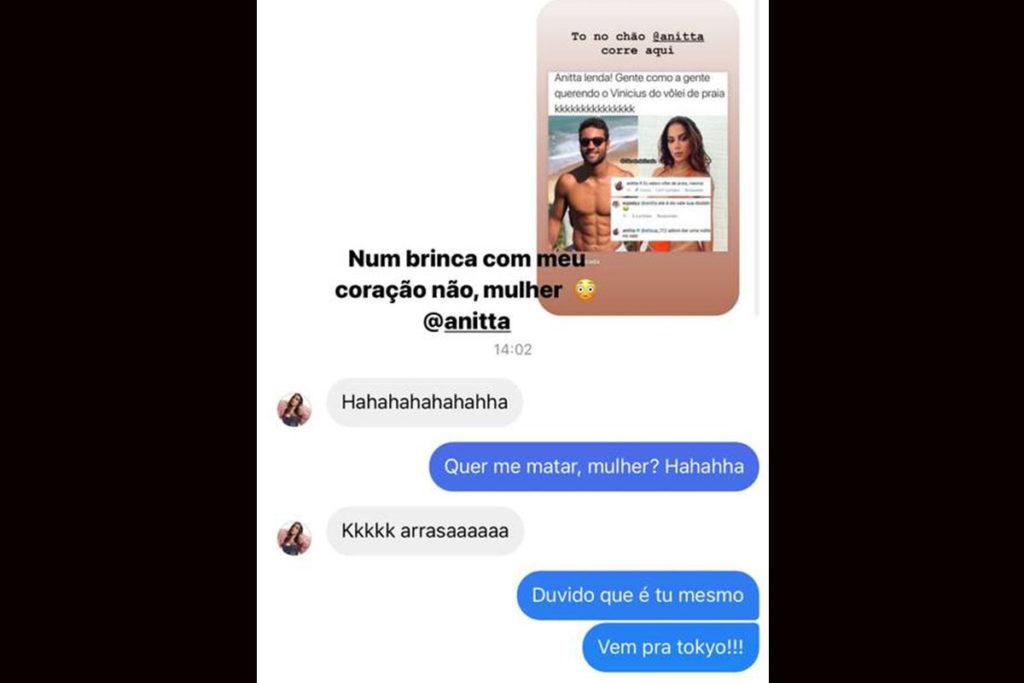 Vinicius Freitas responde investida de Anitta