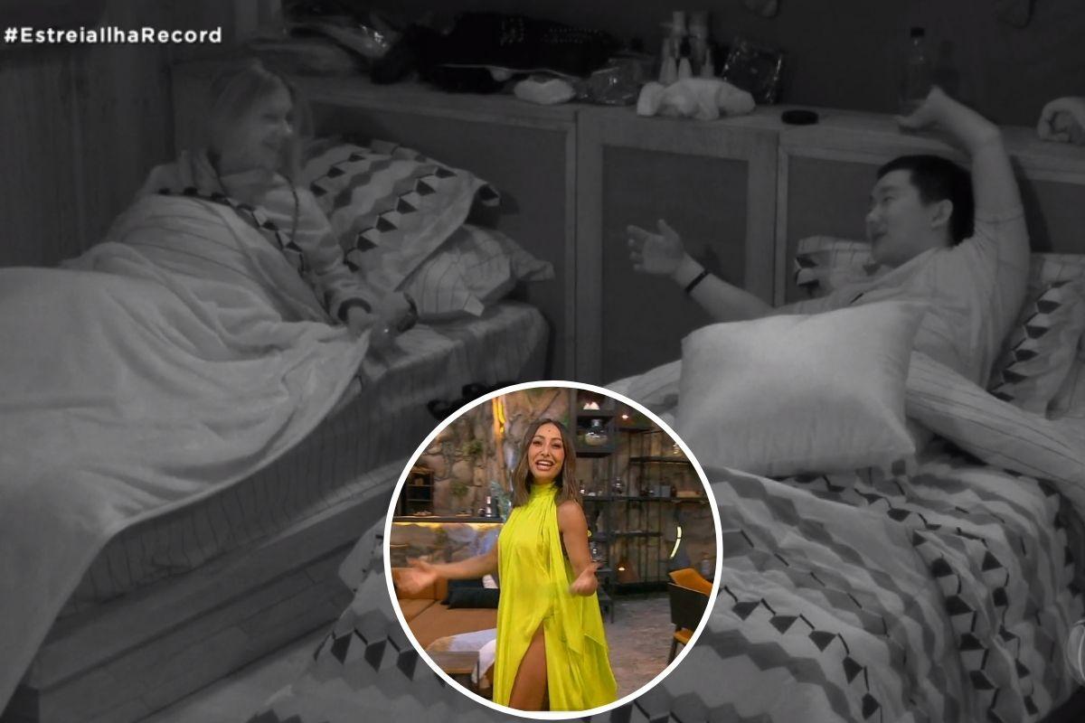 Antonela e Pyong no quarto e Sabrina Sato no destaque
