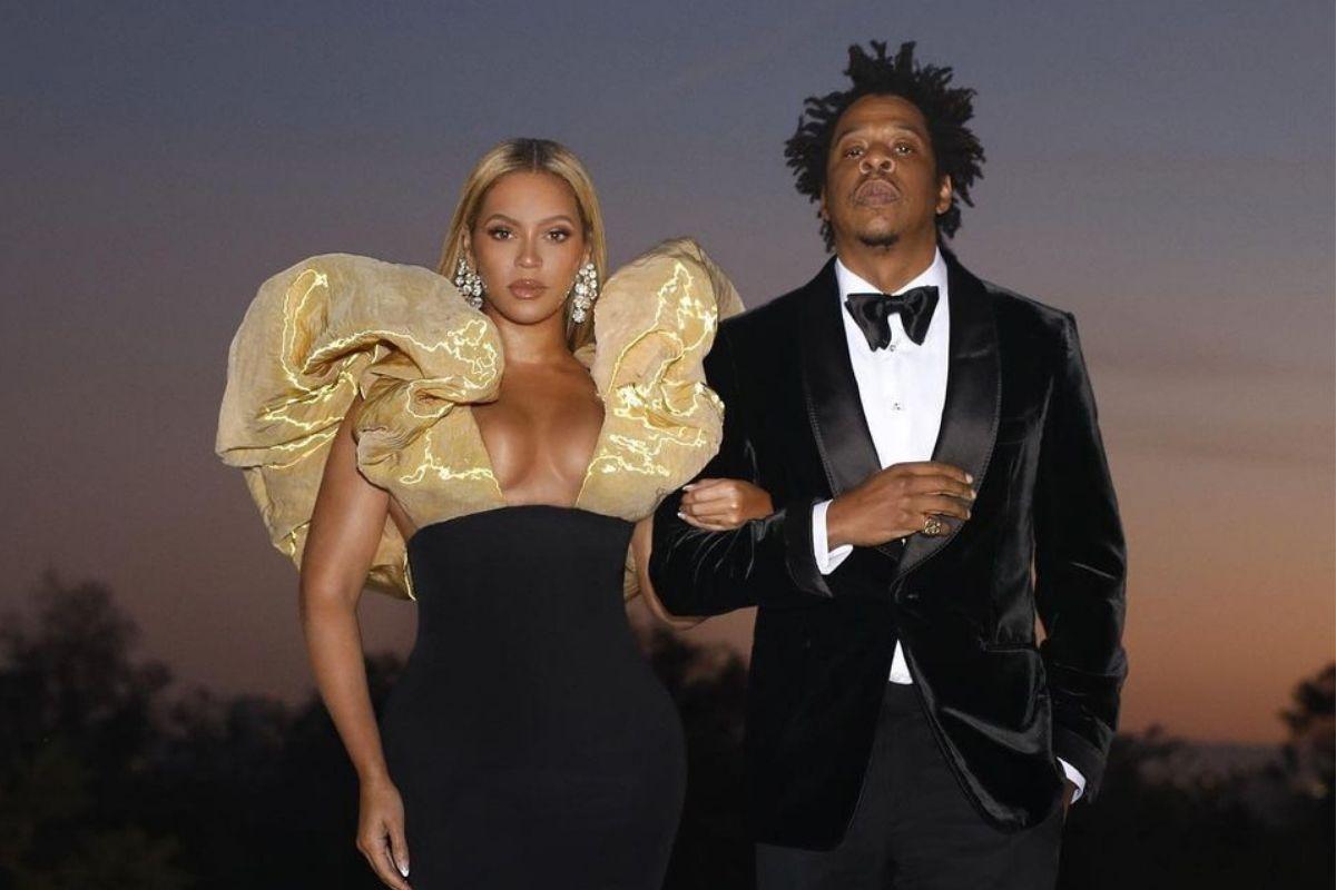 Beyoncé e Jay-Z em foto do Globo de Ouro