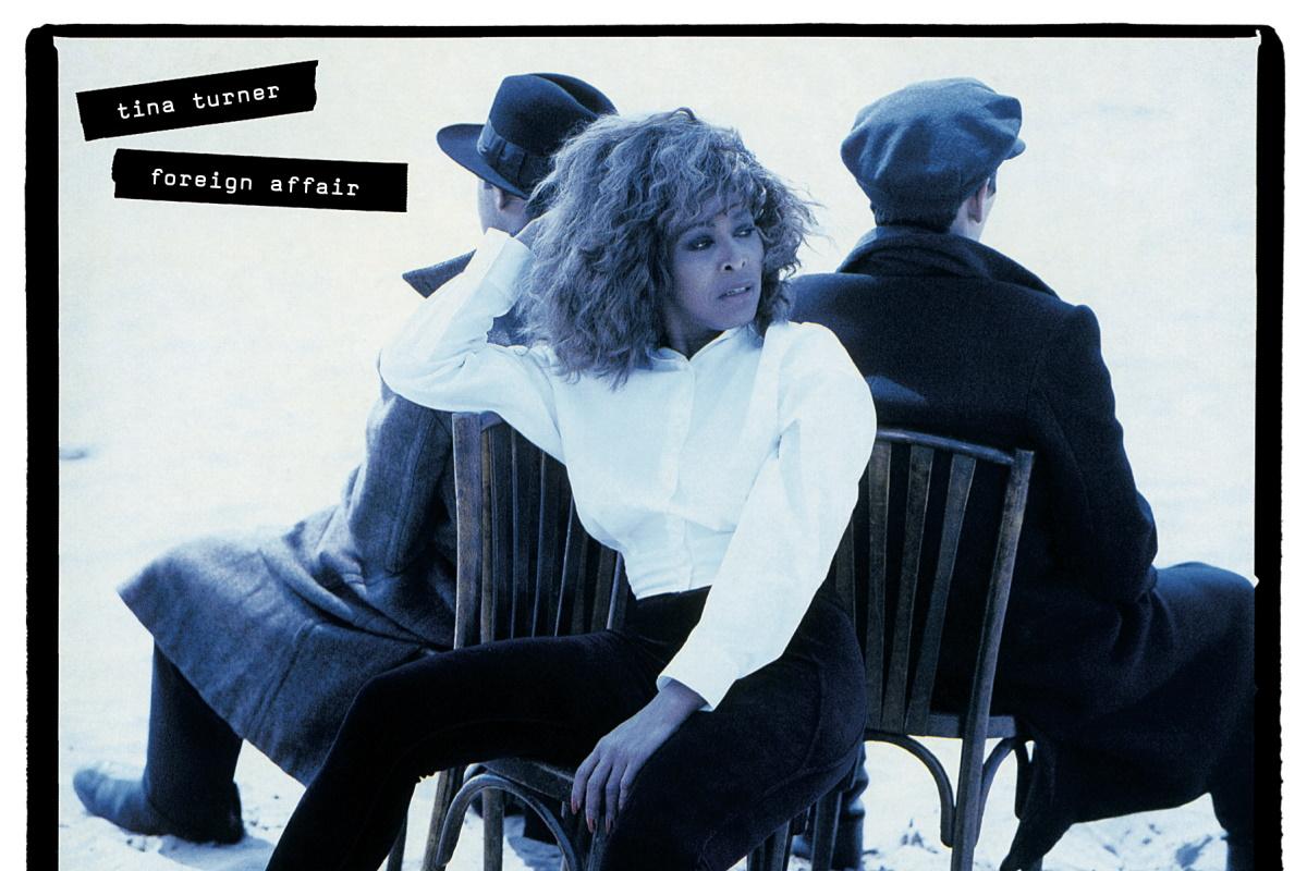 capa de album de tina turner