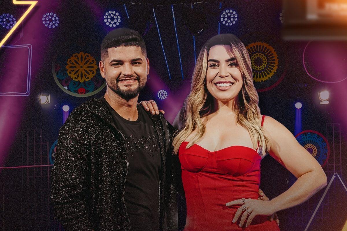 Foto da capa do single de Wagner Dinniz e Naiara Azevedo