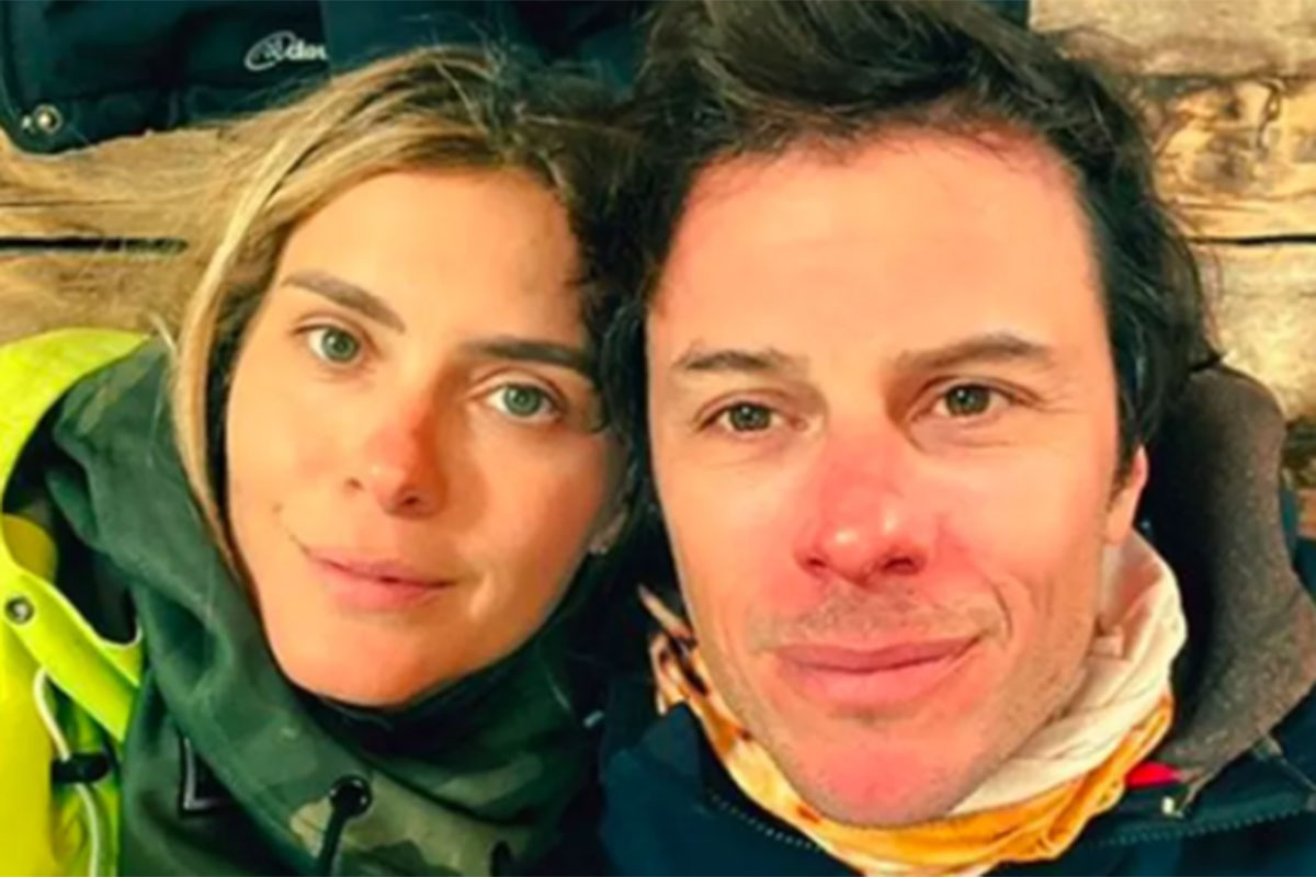 Carolina Dieckmann e o marido Tiago Worcman