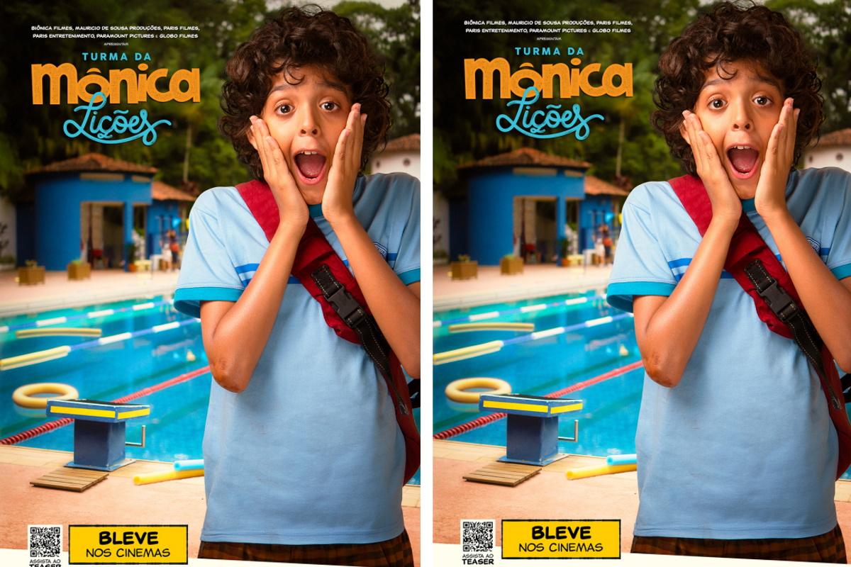 Cartaz filme Turma da Monica Liçoes
