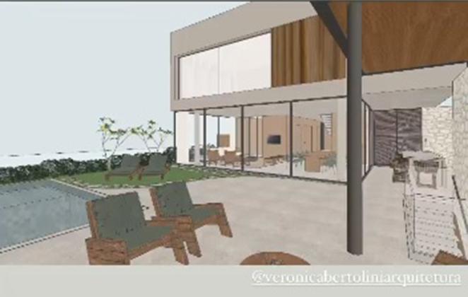 Bárbara Evans mostra projeto de nova casa