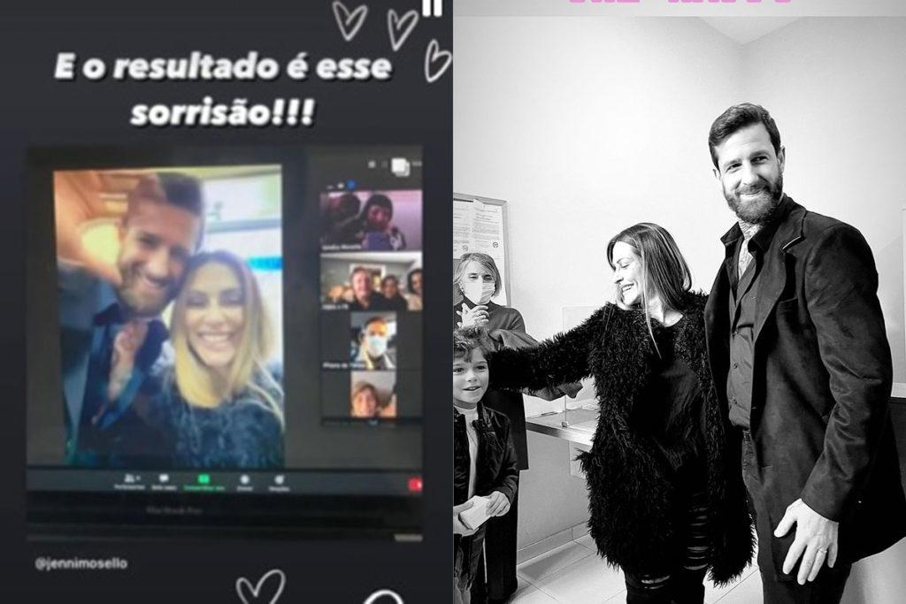 Cleo se casou com Leandro D'Lucca com uma cerimônia no civil
