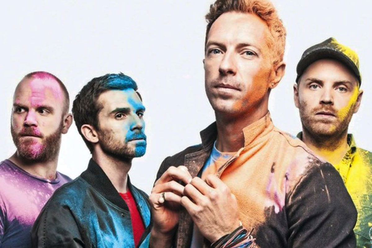 Coldplay é confirmado no Rock in Rio 2022
