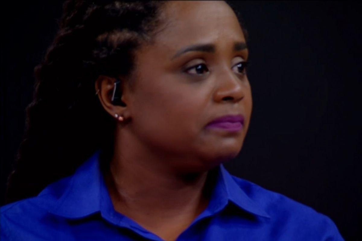 Daiane dos Santos chora ao vivo ao falar de Rebeca Andrade