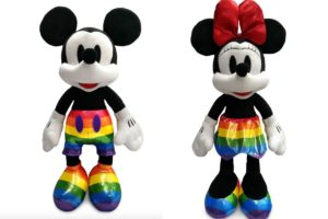 Mickey e Minnie LGBTQIA+ vendidos na Disvey