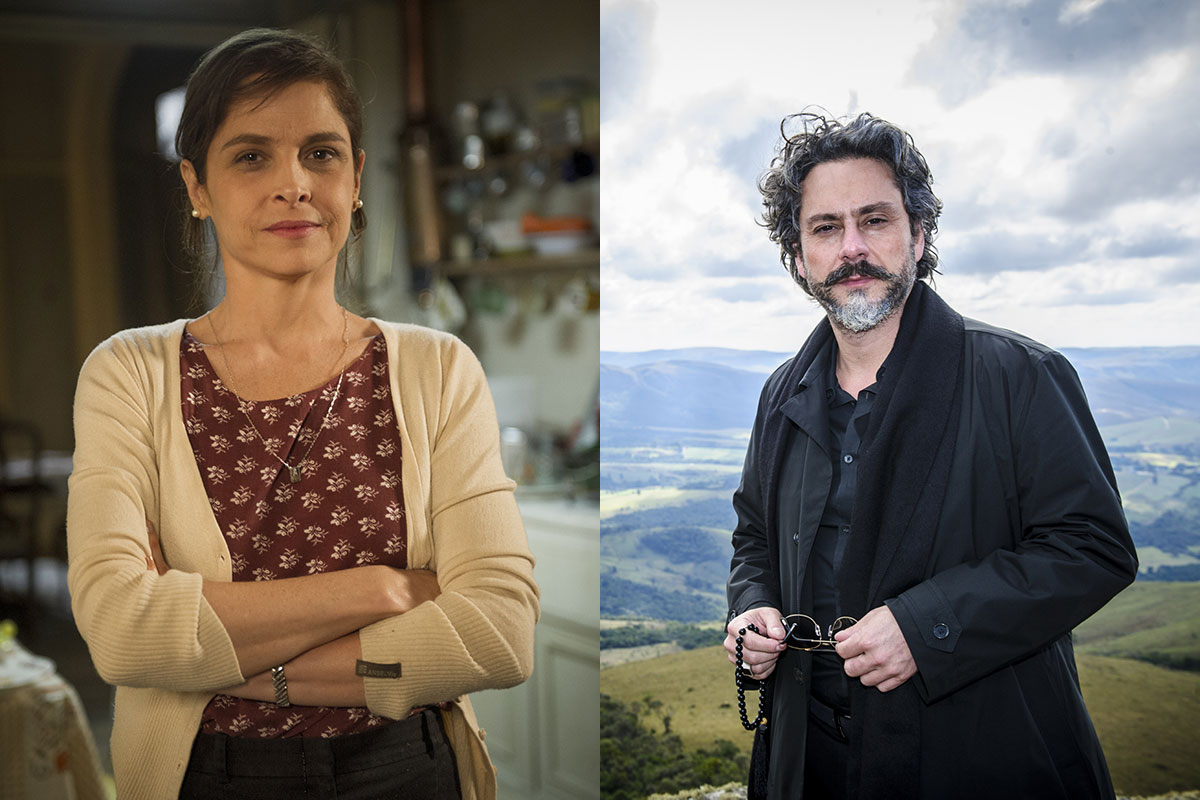 Drica Moraes e Alexandre Nero em Império