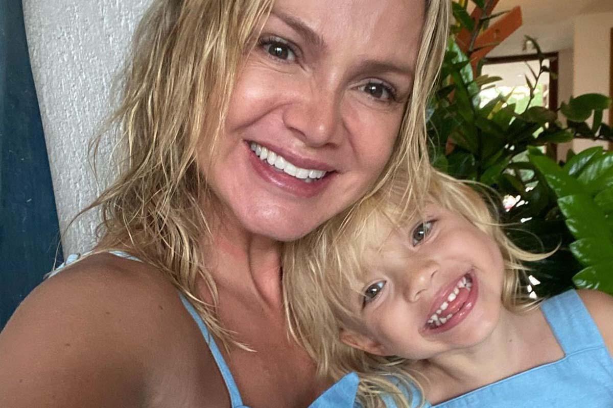 Eliana com a filha Manuela