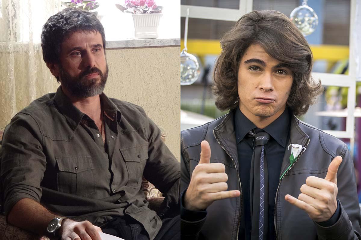 Eriberto Leão e Rafael Vitti em Malhação