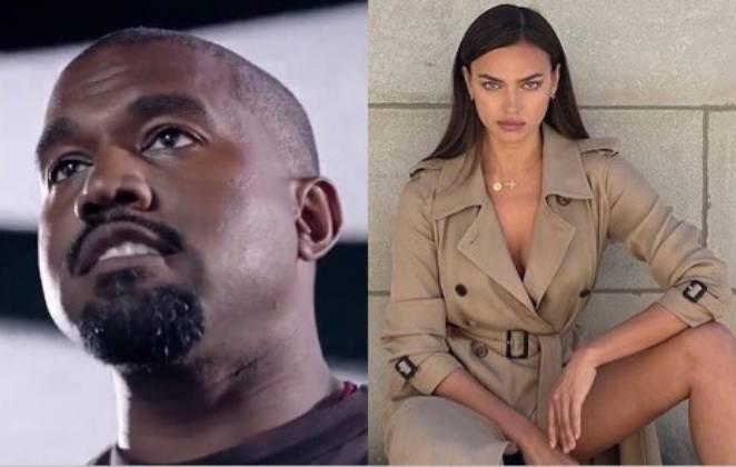 fotomontagem Kanye West e Irina Shayk