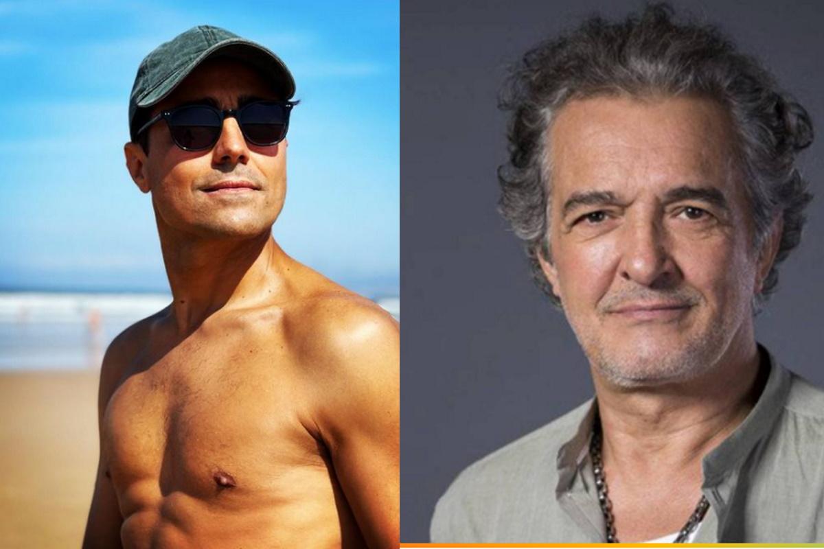 Ricardo Pereira e ator portugues fotomontagem
