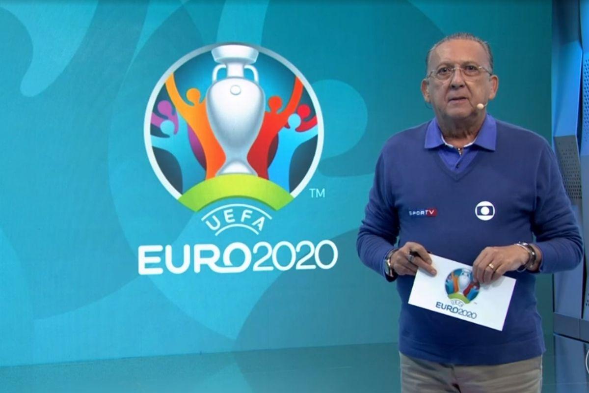 Galvão Bueno apresenta Eurocopa