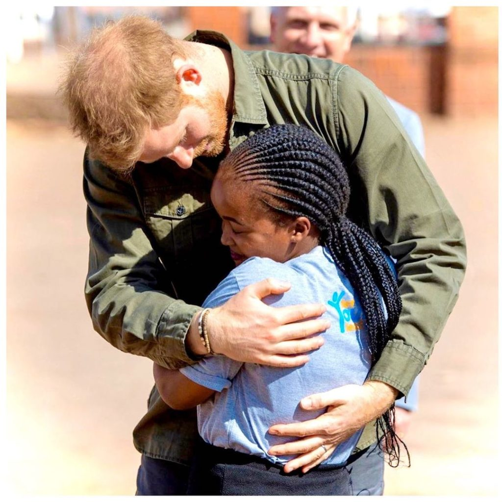 Harry em Botswana, África do Sil